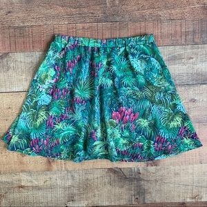 Show Me Your Mumu Mini Skirt in 'Rainforest Cafe'